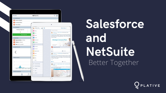 netsuite salesforce plative