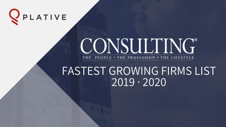 Announcement: Consulting Magazine Names Plative To Fastest Growing Firms List for Second Consecutive Year