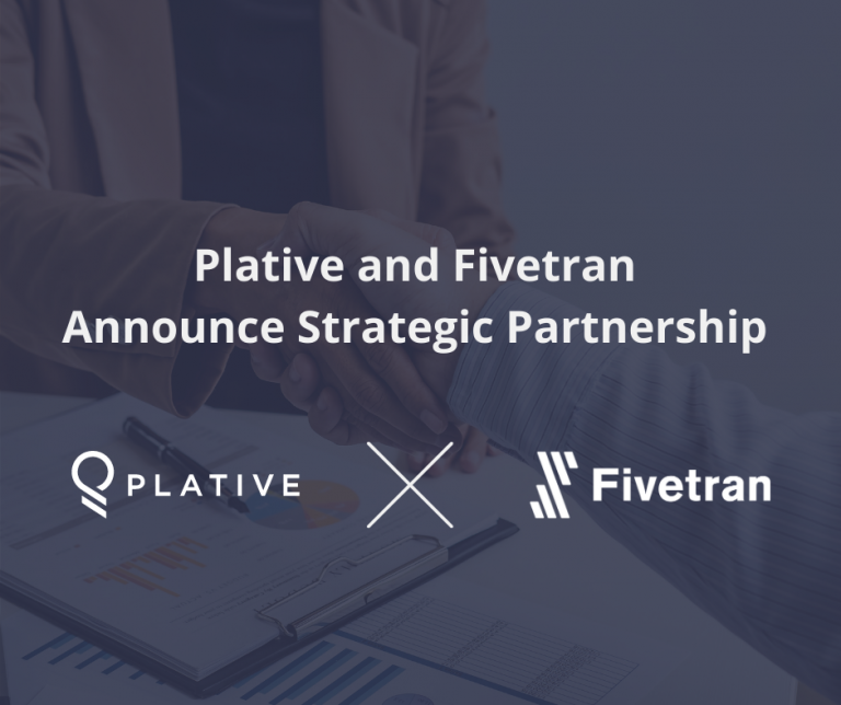 Plative and Fivetran Announce Strategic Partnership