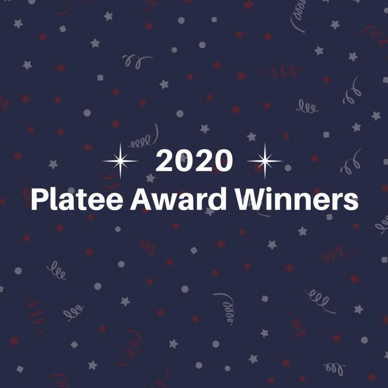 2020 Platee Award Winners