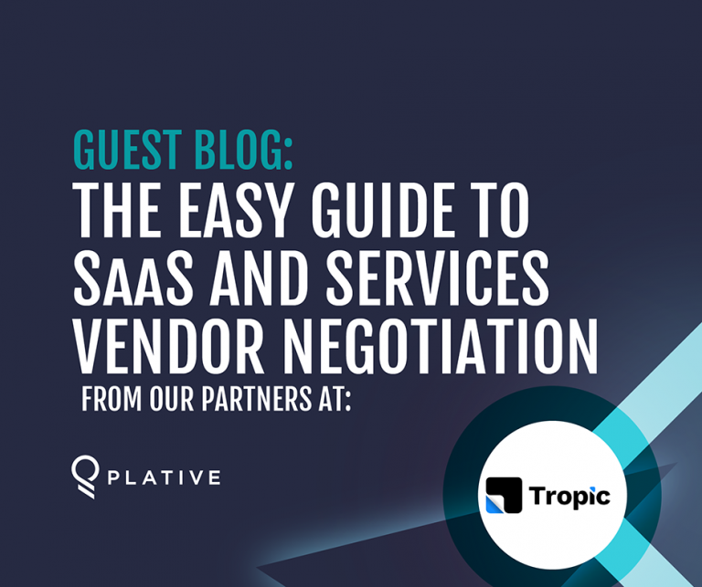 Guest Blog: The Easy Guide to SaaS and Services Vendor Negotiation
