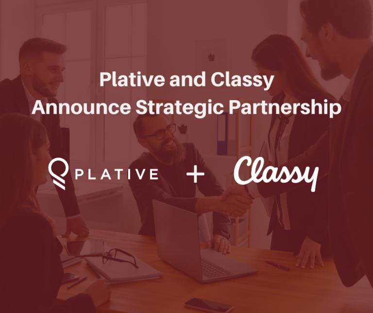 Plative and Classy Announce Strategic Partnership