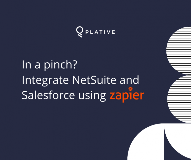 In a pinch? Integrate NetSuite and Salesforce using Zapier